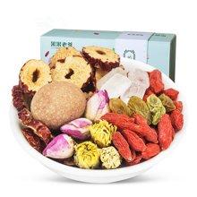 果果老爹 特产枸杞桂圆红枣茶 八宝茶216g/盒 菊花茶