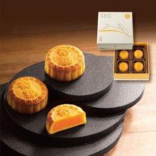 奇华蛋黄奶皇奶黄月饼香港进口中秋港式月饼礼盒装288克8入