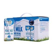 $纽麦福部分脱脂纯牛奶(250ml*12)