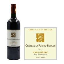 法国波尔多中级庄 芳都城堡红葡萄酒 2012年