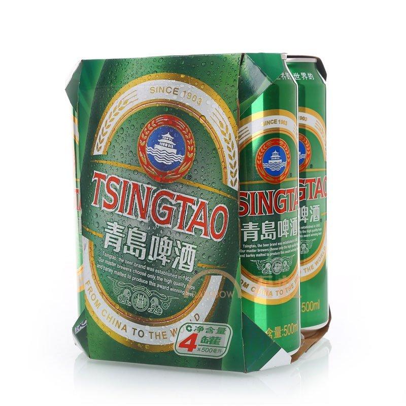 青岛啤酒罐装((500ml*4))【价格