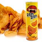 马来西亚进口 印象牌香辣柠檬味木薯片120g 膨化即食下午茶点
