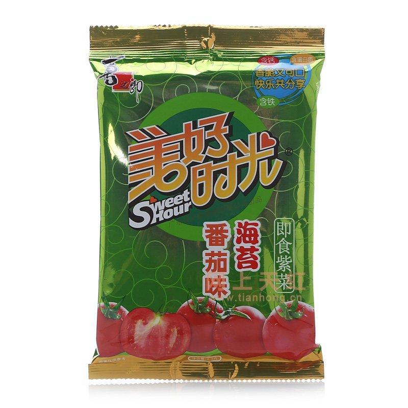 喜之郎美好时光番茄味海苔(4.5g)图片