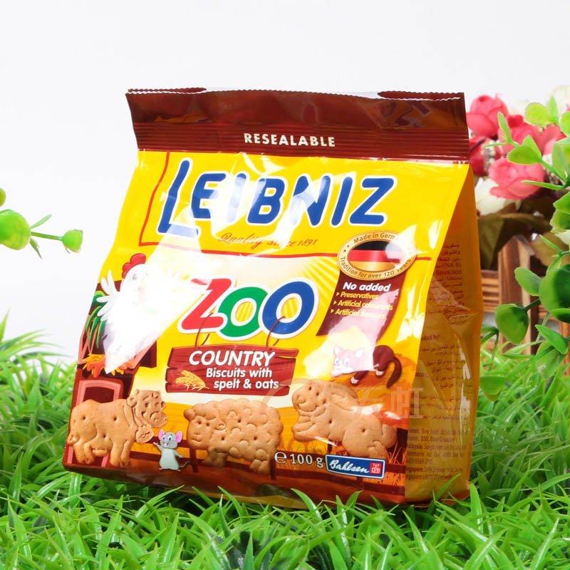 莱布尼兹农场动物型饼干(100g)【价格