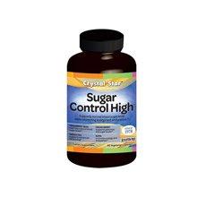 Crystal Star美国海素格Sugar Control High血糖紊乱恢复增益胶囊60粒 诺舒格