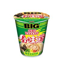 ¥日清合味道BIG杯猪骨浓汤风味(110g)