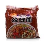 公仔面五包经济装煮面(牛肉味)(560g)