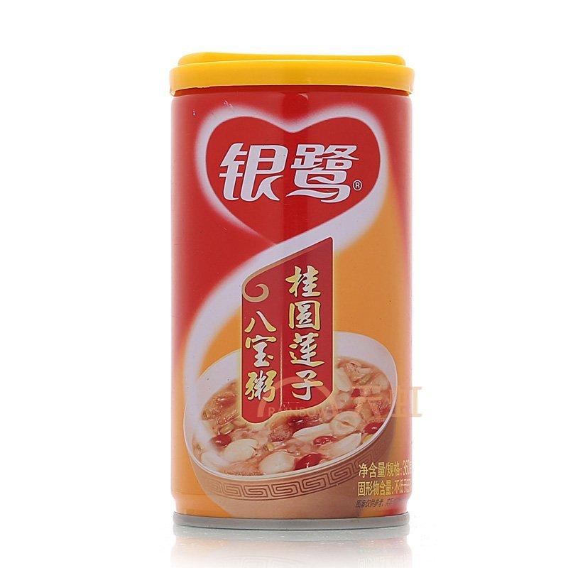 银鹭桂圆莲子八宝粥罐头(360g)