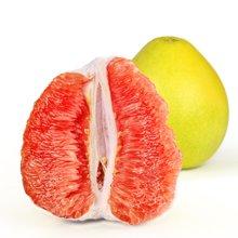 【现货】红心蜜柚 2个装 红心柚 红肉蜜柚红心柚子 新鲜水果红柚 约5斤