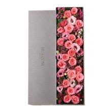 爱的小确幸----戴安娜粉玫瑰21枝,粉色桔梗5枝,石竹梅7枝