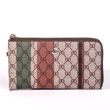 劳斯帅特女士手拿包 长款钱包手机包 H6166-A36 啡色