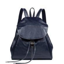 海谜璃 新款女包时尚牛皮女士双肩包女士休闲包背包6886
