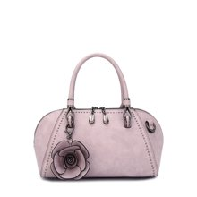 DOODOO 时尚女包欧美风潮手提包新款单肩斜挎包包小包包贝壳包D7106