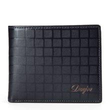 丹爵  新款商务休闲短款钱包男女通用型钱包D6017-2-3