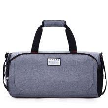 天逸TINYAT 健身包男训练运动单肩包丹独设计爵士品质行李包足球圆筒包旅行包手提包 TY/308