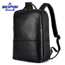 博牌 新款商务男士背包韩版休闲学生旅行书包电脑包方形双肩包751-002401