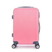 丹爵   新款时尚纹拉杆箱万向轮男女行李箱子旅行箱拉链密码箱登机箱D7