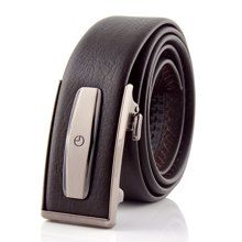 Goldlion|金利来男士真皮带腰带自动扣商务休闲GAH0160009-730