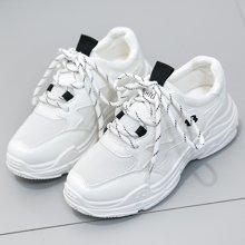 搭歌 2018运动鞋女韩版学生厚底女鞋夏季新款透气跑步鞋 1853-8