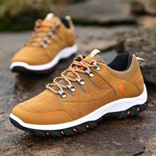植木直新款男士户外登山鞋防滑低帮徒步鞋160716