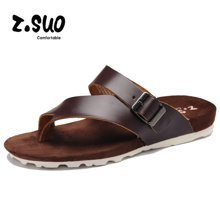 Z.Suo/走索夏季男鞋韩版凉拖男潮流沙滩鞋夹脚拖鞋男士休闲鞋男 8392