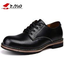 Z.Suo/走索男鞋马丁鞋男士休闲鞋男单鞋工装鞋休闲皮鞋男 ZS18506