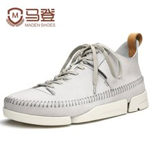 马登男鞋三瓣鞋男运动休闲鞋男鞋子男夏季英伦潮鞋 1601072
