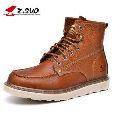 Z.Suo/走索男鞋子英伦马丁靴男靴子工装靴短靴军靴机车靴潮 ZS16206
