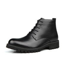 西瑞新款鞋男时尚短靴潮流男靴系带增高男鞋子加棉不加棉可选MF1616