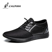 L'ALPINA意大利袋鼠内增高休闲男鞋网布鞋男透气时尚韩版系带运动鞋  DSAS0053