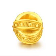 金世通3D硬金 遇见转运珠 2R40005 约1.37克 免工费 遇见你是一生最美的事情!