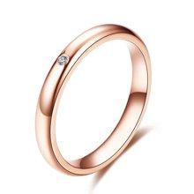 佐卡伊夏至未至陆之昂同款男戒18K金钻戒钻石结婚戒指对戒珠宝