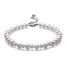 金兴福    甜美气质【清漾】时尚精致珍珠手链