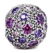 PANDORA 潘多拉 多彩锆石固定扣串珠791286CFPMX(1)