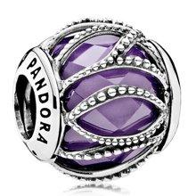 PANDORA 潘多拉 紫色交织的光华925银串饰791968ACZ(1)