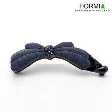 Formia芳美亚韩版发饰竖夹香蕉夹马尾夹时尚发夹HS6831201  深蓝色