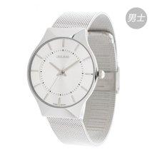 聚利时情人节礼物手表商务休闲表盘情侣手表男女对表男款石英表JA-577M