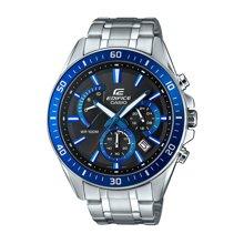 新品正品卡西欧男表钢带手表运动大表盘高档商务石英腕表EFR-552D