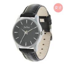 聚利时情人节礼物正品时尚情侣对表男女手表皮带女士手表JA-455L