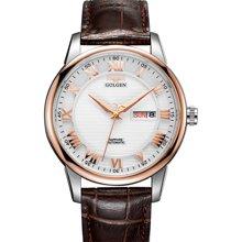 古尊(GOLGEN)手表 商务系列机械男表白色GN.16071M.VRS