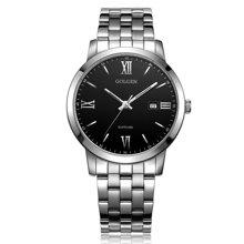古尊(GOLGEN)手表 商务系列石英男表黑色GN.19007M.PB
