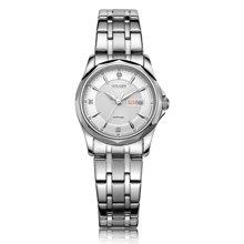 古尊(GOLGEN)手表 商务系列石英女表白色GN.19005L.PS