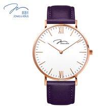 唯路时(JONAS&VERUS)手表 简尚白盘皮带石英女表X01646-Q3.PPWLX