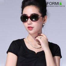 Formia芳美亚新款太阳镜时尚舒适防紫外线偏光镜墨镜 紫红色