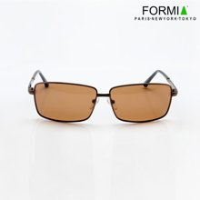 FORMIA芳美亚偏光镜太阳镜潮人男士墨镜司机驾驶镜眼镜开车专用  咖色