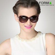 Formia芳美亚新款太阳镜优雅大气潮流时尚墨镜女款太阳镜 红色一