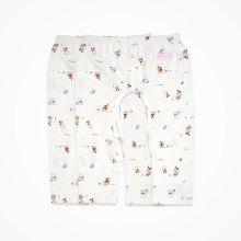 丑丑婴幼 新生儿挖裆长裤婴儿纯棉卡通居家长裤 两件装 CHD001T