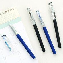 晨光文具中性笔0.5考试签字笔全针管 学习办公用品 KGP1821(1支/12支装)