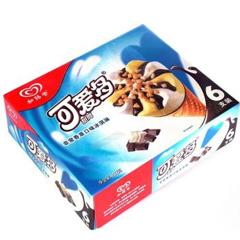 ¥和路雪可爱多甜筒非常香草口味冰淇淋多支装hn1(40