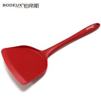 法國鉑帝斯不易粘鍋鍋鏟硅膠鏟 炒菜鏟子廚具煎炒菜硅膠鏟  貨號:SN01B